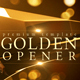 Golden Opener - VideoHive Item for Sale