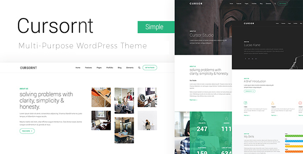 Multi-purpose Business WordPress Theme - Cursornt
