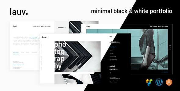 Lauv - Trendy Portfolio WordPress