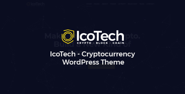 IcoTech - Crypto BlockChain WordPress Theme