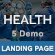 Health - Multipurpose Responsive HTML Landing Pages - ThemeForest Item for Sale