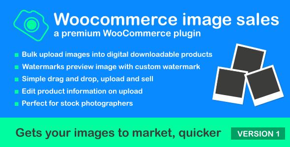 Woocommerce Image Sales wordpress indir