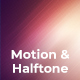 Motion & Halftone Backgrounds - GraphicRiver Item for Sale