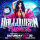 Halloween Madness Square Flyer Template - GraphicRiver Item for Sale