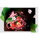 Strawberry of Splashes Juice on Black Transparent Background - GraphicRiver Item for Sale