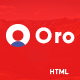 Oro - Personal Business vCard HTML Template - ThemeForest Item for Sale