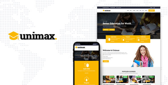 Unimax | Education HTML Template