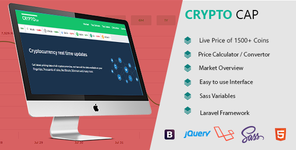 Crypto Cap -  Cryptocurrencies Realtime Prices, Charts, Market Caps and more