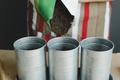 worker pours soil into flower pot - PhotoDune Item for Sale