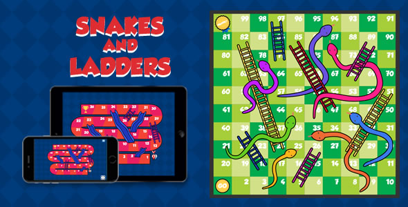 Snakes and Ladders Game - The JavaScriptSource
