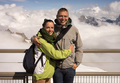 Beautiful couple on holiday on Mont Blanc - PhotoDune Item for Sale