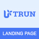 UTRUN - Software, App Landing page PSD Template - ThemeForest Item for Sale