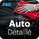 AutoDétaillé - Vehicle Detailing and Cleaning Products Store PSD Template - ThemeForest Item for Sale