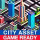 Polygonia City Asset Pack (Buildings,Cars,Elements) - 3DOcean Item for Sale
