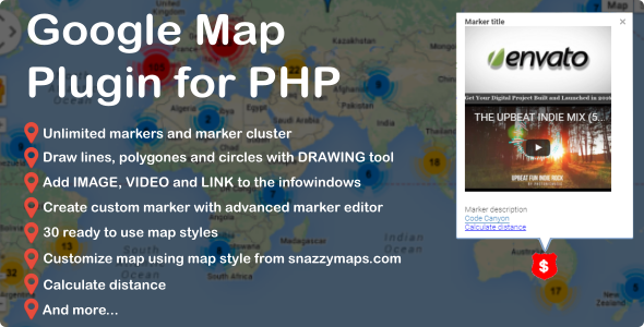 Geolocation PHP Scripts from CodeCanyon