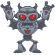 Metalhead - Heavy Metal Robot - GraphicRiver Item for Sale