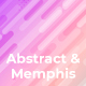 Abstract & Memphis Backgrounds - GraphicRiver Item for Sale