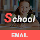 School - Responsive Email Template - ThemeForest Item for Sale