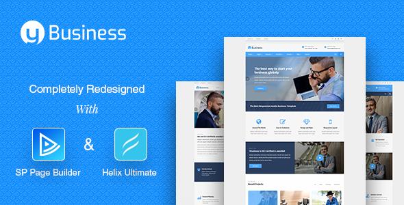 YbusiNess – Responsive Joomla Business Template