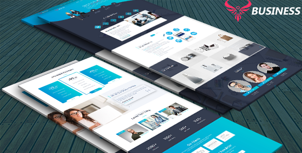 Business - Business\Corporate Landing Page