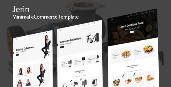 Jerin - Minimal eCommerce HTML Template