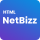 NetBizz -  Business and Corporate Multipurpose HTML Template - ThemeForest Item for Sale