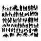 Family Silhouettes - GraphicRiver Item for Sale