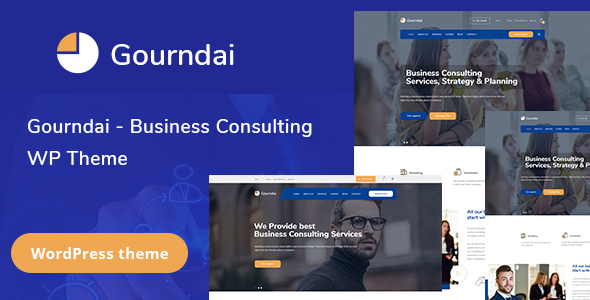 Gourndai - Corporate Agency & Consulting WordPress Theme