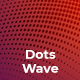Dots Wave Backgrounds - GraphicRiver Item for Sale