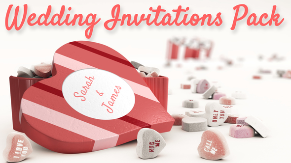 Wedding Invitations Pack