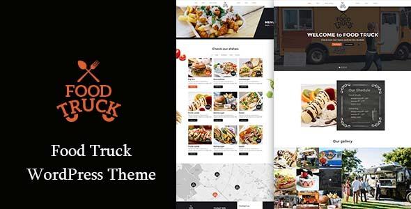 Food Truck –  Restaurant Responsive WordPress Theme