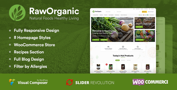 RawOrganic - Healthy Food Store