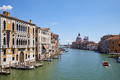 Grand Canal in Venice at midday with Saint Mary of Health basilica - PhotoDune Item for Sale