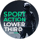 Sport Action Lower Thirds Pack - VideoHive Item for Sale