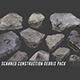 Scanned Construction Debris Pack - 3DOcean Item for Sale