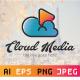 Cloud Media Logo Template - GraphicRiver Item for Sale