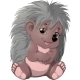 Cartoon Style Hedgehog - GraphicRiver Item for Sale