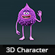 Victor - 3D Character Stills - GraphicRiver Item for Sale