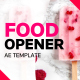 Food Product Opener - VideoHive Item for Sale