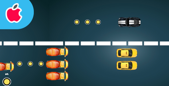 Speed Car :Ios Game-Multiples characters-easy to reskin-and more