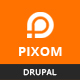 Pixom - Multipages Responsive Business Drupal 8.7 Theme - ThemeForest Item for Sale