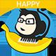 Happy Acoustic Ukulele