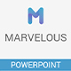 Marvelous Powerpoint Presentation Template - GraphicRiver Item for Sale