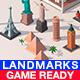 Polygonia Cartoon World Landmarks Pack - 3DOcean Item for Sale