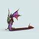 Cartoon Monster Dragon - 3DOcean Item for Sale