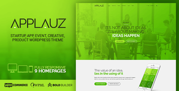 Saas Templates from ThemeForest