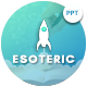 Estoric Education Presentation Template - GraphicRiver Item for Sale