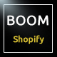 Boom - Fashion and accessories shopify theme - ThemeForest Item for Sale