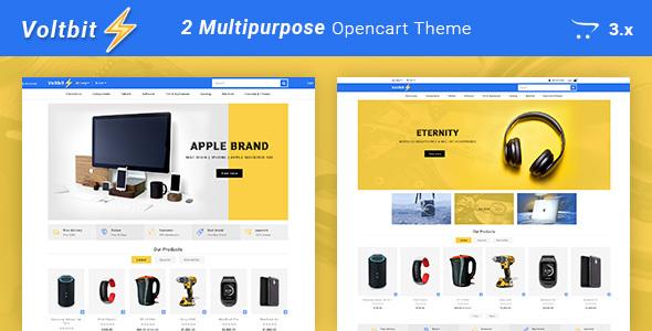 Voltbit - Multipurpose Responsive Opencart 3 Theme