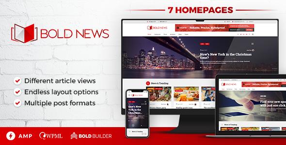 Bold News - Magazine & Newspaper